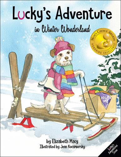 Lucky's Adventure in Winter Wonderland Cover Image