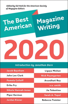 The Best American Magazine Writing 2020 Cover Image