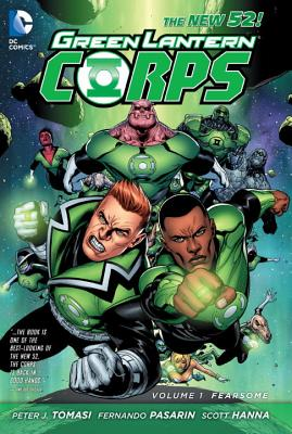 Green Lantern Corps Vol. 1 Cover