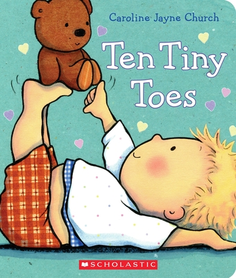 Ten Tiny Toes (Caroline Jayne Church) Cover Image