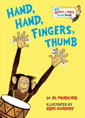 Cover for Hand, Hand, Fingers, Thumb (Big Bright & Early Board Book)