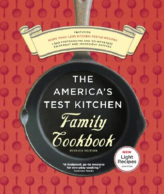The America's Test Kitchen Family Cookbook Cover