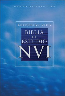 Editorial Vida Biblia de Estudio NVI = Study Bible-Nu Cover Image
