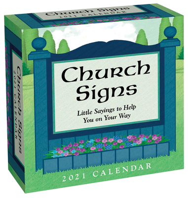 Church Signs 2021 Day-to-Day Calendar Cover Image