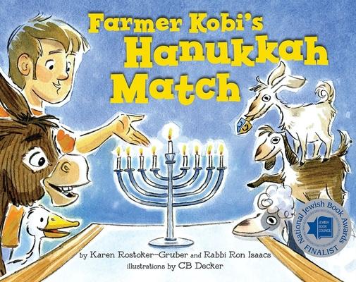 Farmer Kobi's Hanukkah Match Cover Image