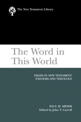 The Word in This World Cover