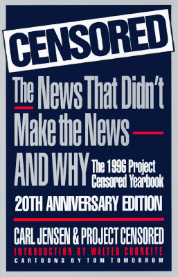 Censored 1996: The 1996 Project Censored Yearbook Cover Image