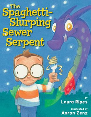The Spaghetti-Slurping Sewer Serpent Cover