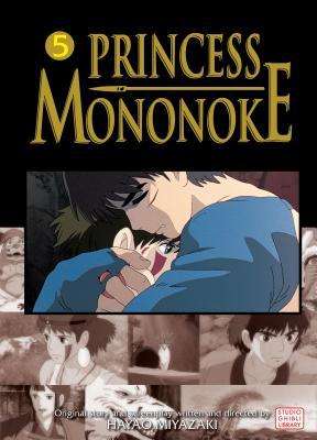 Cover for Princess Mononoke Film Comic, Vol. 5 (Princess Mononoke Film Comics #5)