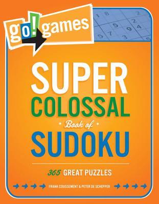 Go!games Super Colossal Book of Sudoku Cover
