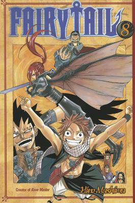 Fairy Tail V08 Cover