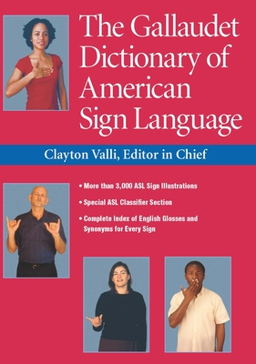The Gallaudet Dictionary of American Sign Language Cover Image