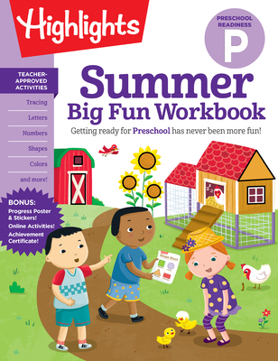 Summer Big Fun Workbook Preschool Readiness (Highlights Summer Learning) Cover Image