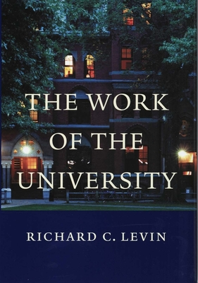 Cover for The Work of the University