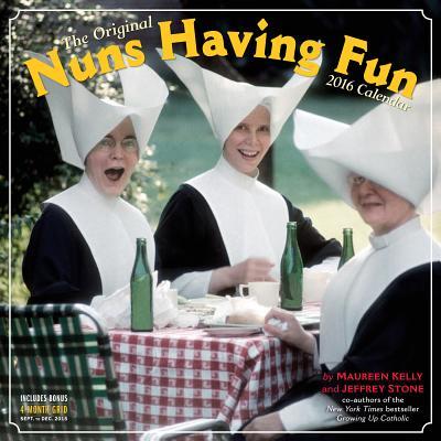 Nuns Having Fun Wall Calendar 2016 Cover Image