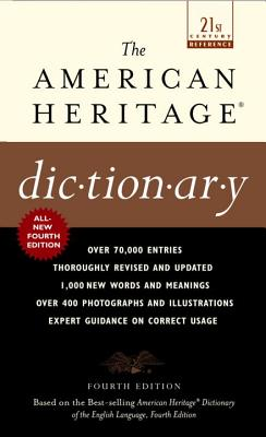 The American Heritage Dictionary: Fourth Edition | Boswell Book ...