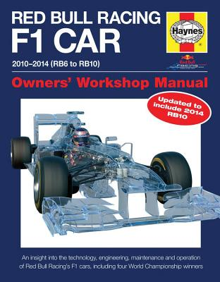 Red Bull Racing F1 Car Manual 2nd Edition: 2010-2014 (RB6 to RB10) (Owners' Workshop Manual) Cover Image