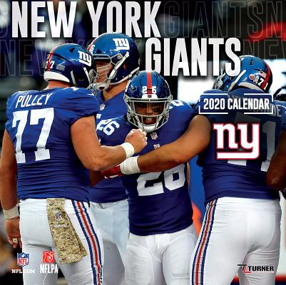 New York Giants: 2020 12x12 Team Wall Calendar Cover Image