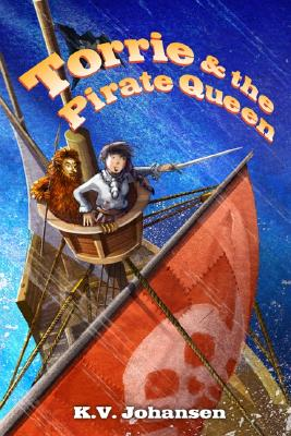 Torrie and the Pirate Queen Cover