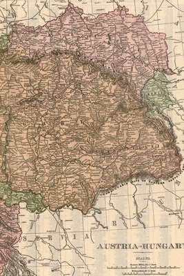 Austria-Hungary (1906 Map) 4x6