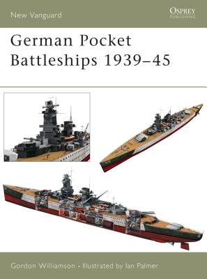 German Pocket Battleships 1939-45 Cover