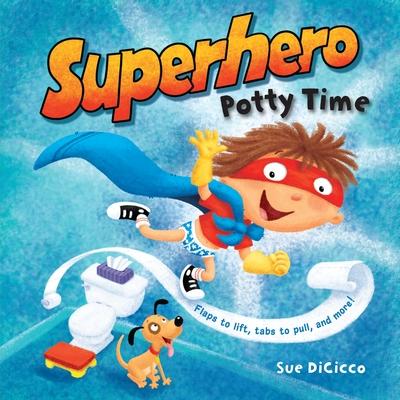 Superhero Potty Time Cover
