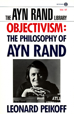 Cover for Objectivism