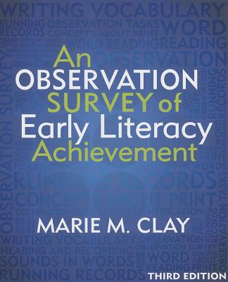 An Observation Survey of Early Literacy Achievement, Third Edition Cover Image
