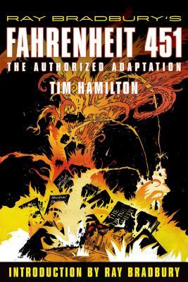 Ray Bradbury's Fahrenheit 451 Cover