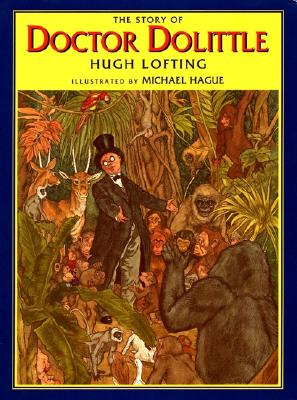 The Story of Doctor Dolittle (Books of Wonder) Cover Image