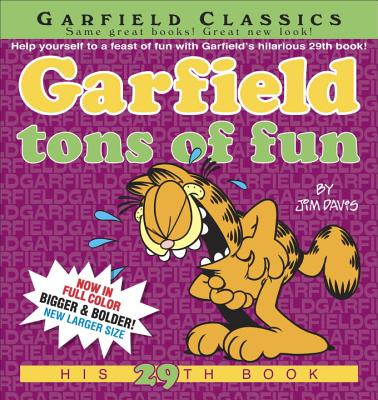 Garfield Tons of Fun Cover Image