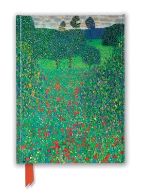 Gustav Klimt: Poppy Field (Foiled Journal) (Flame Tree Notebooks) Cover Image