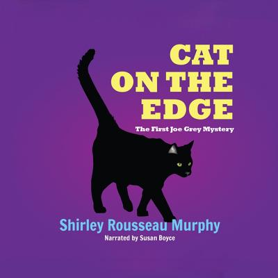 Cat on the Edge: A Joe Grey Mystery (Joe Grey Mysteries (Audio) #1) Cover Image