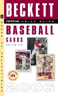 The Official Beckett Price Guide to Baseball Cards Cover Image