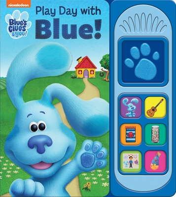 Nickelodeon Blue's Clues & You!: Play Day with Blue! (Play-A-Sound) Cover Image