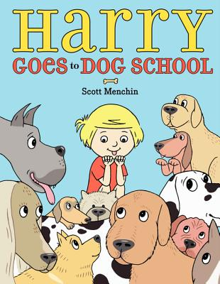 Harry Goes to Dog School Cover