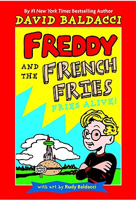 Freddy and the French Fries #1: Cover