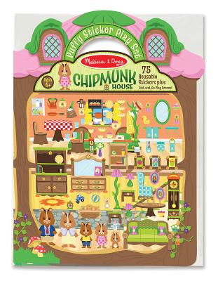 Puffy Stickers - Chipmunk House Cover Image