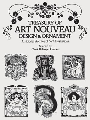 Treasury of Art Nouveau Design & Ornament (Dover Pictorial Archive) Cover Image