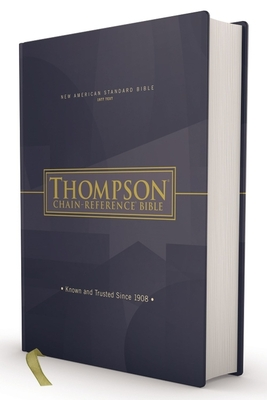 Nasb, Thompson Chain-Reference Bible, Hardcover, Red Letter, 1977 Text Cover Image