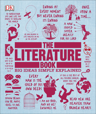The Literature Book: Big Ideas Simply Explained Cover Image
