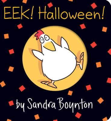 Eek! Halloween! (Oversized Lap Edition) (Boynton on Board) Cover Image