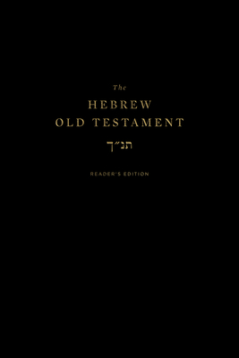The Hebrew Old Testament, Reader's Edition Cover Image