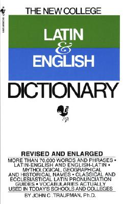 Bantam New College Latin and English Dictionary Cover Image