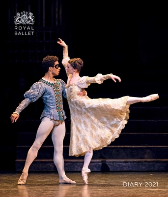 The Royal Ballet Desk Diary 2021 Cover Image