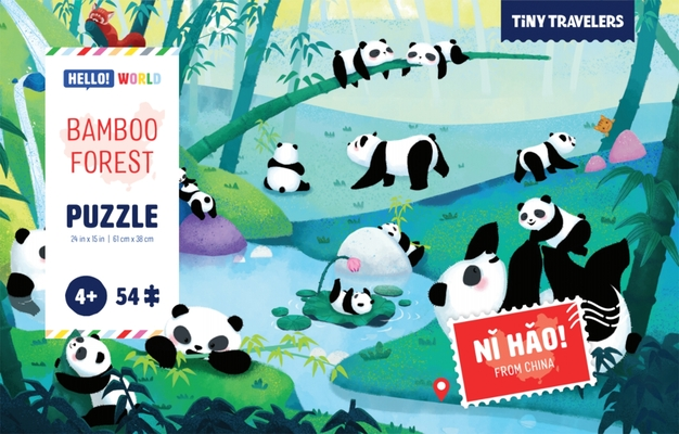 Puzzle: Bamboo Forest (Tiny Travelers) Cover Image