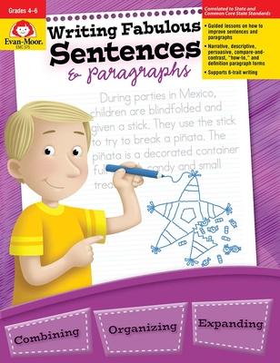 Writing Fabulous Sentences & Paragraphs (Write It Writing Series) Cover Image