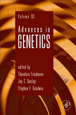 Advances in Genetics, 93 Cover Image