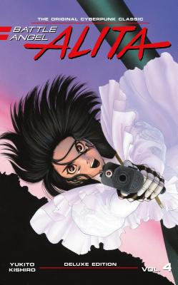 Battle Angel Alita Deluxe 4 (Contains Vol. 7-8) Cover Image