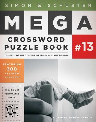 Simon & Schuster Mega Crossword Puzzle Book #13 (S&S Mega Crossword Puzzles #13) Cover Image